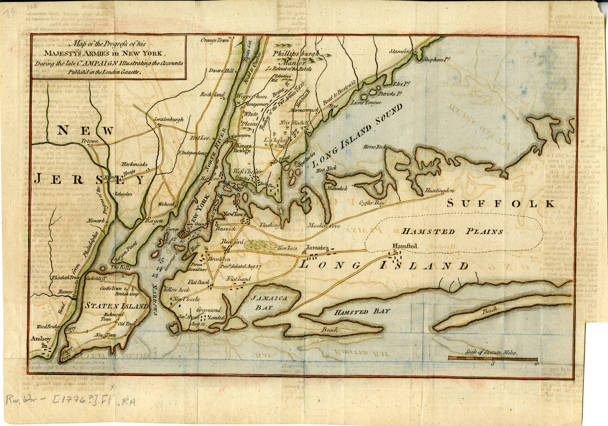 Map Of New York During American Revolution.An American Family Grows In Brooklyn Flatbush From Frontier To